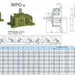 WORM GEAR REDUCER WPO